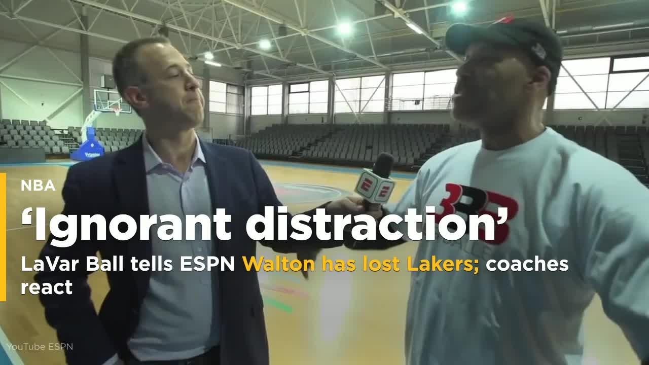 LaVar Ball tells ESPN Walton has lost Lakers