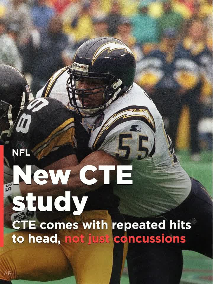 Repeated Head Hits Not Just Concussions >> New Study Shows Development Of Cte Comes With Repeated Hits To Head Not Just Concussion