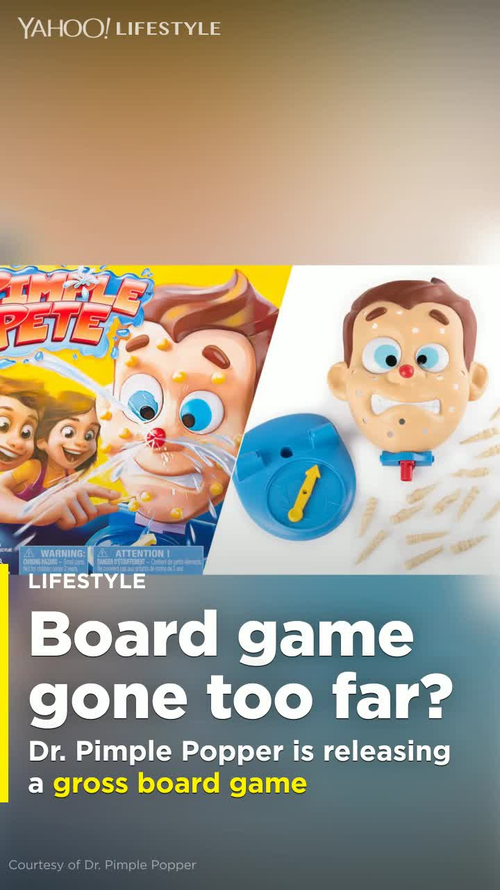 Dr Pimple Popper Is Launching A Pus Shooting Board Game