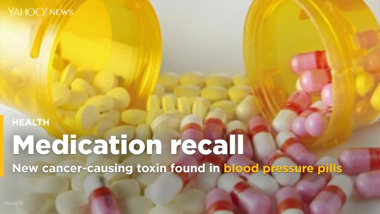 New cancer-causing toxin found in recalled blood pressure pills