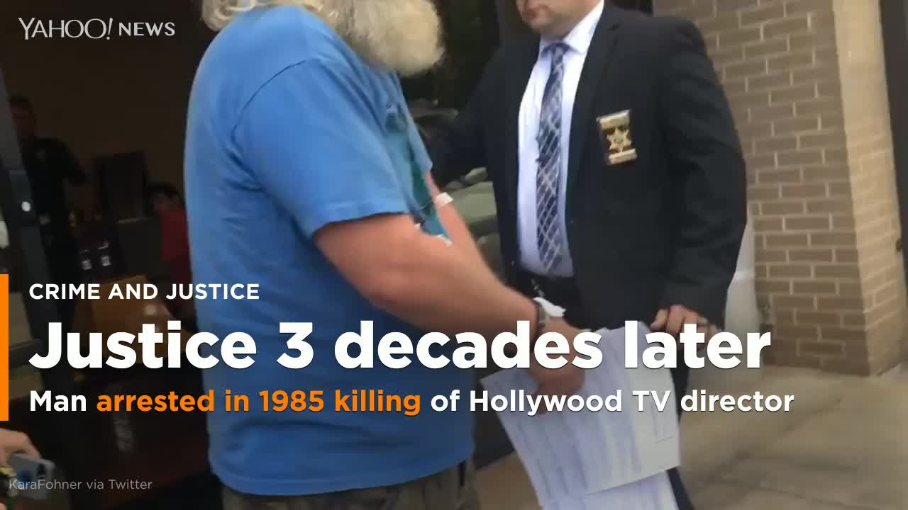Man charged with killing a Hollywood television director in 1985 arrested  in North Carolina