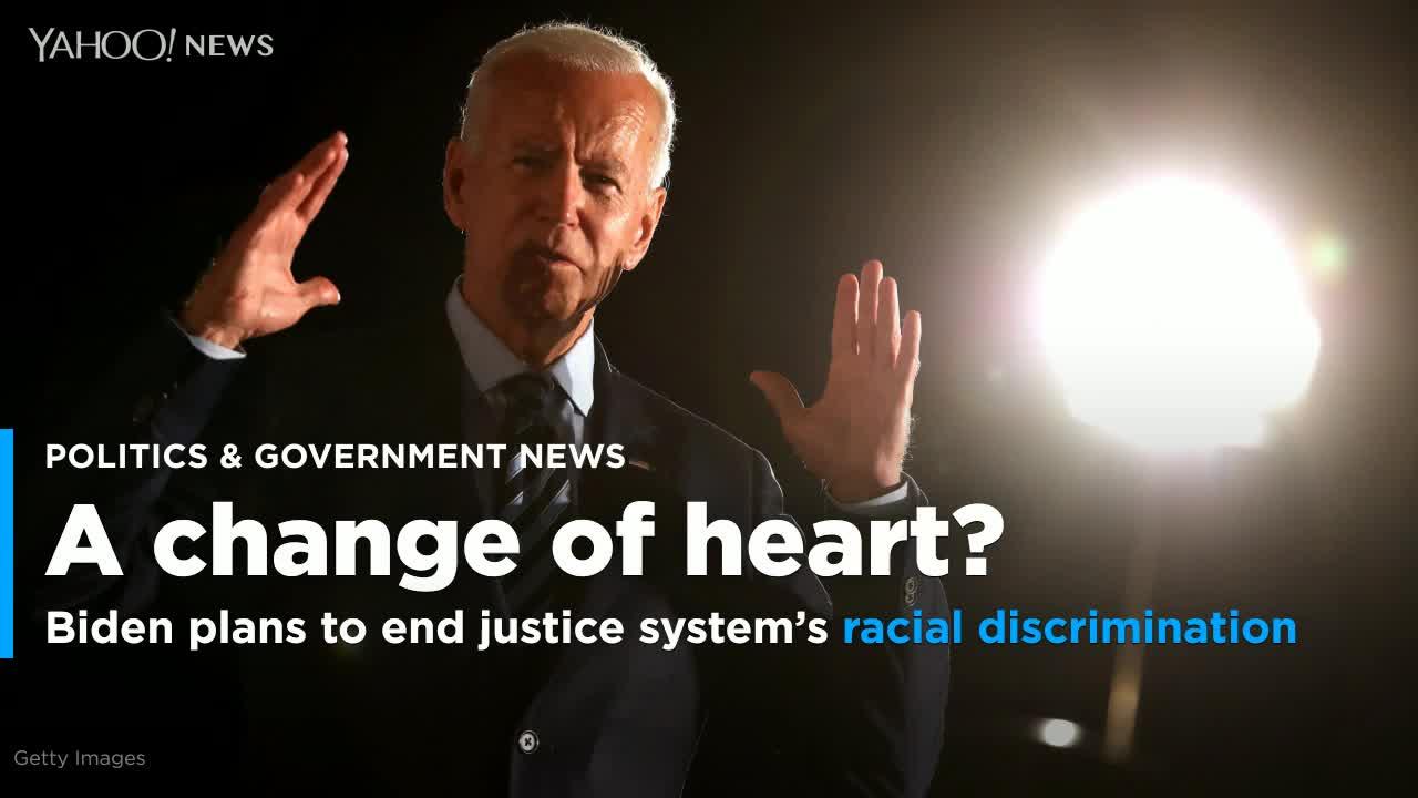Biden unveils plan to end racial discrimination in U.S. criminal justice system