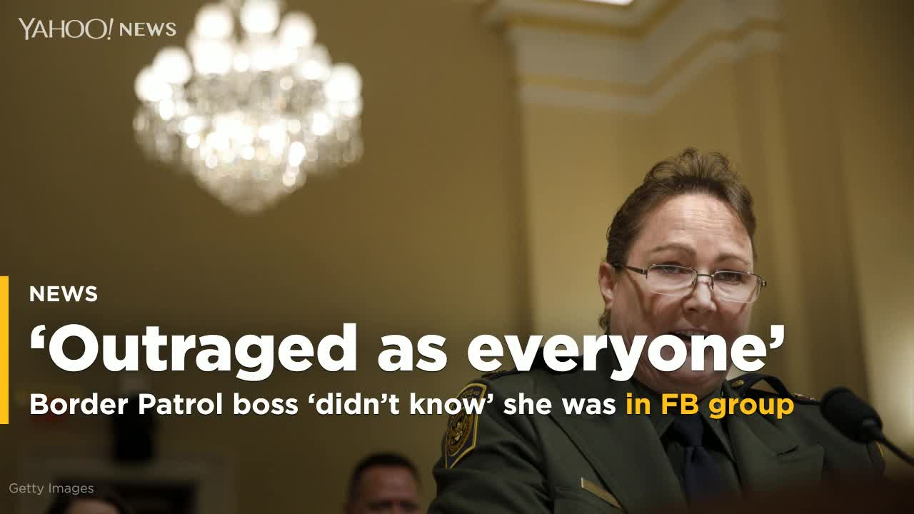 Border Patrol boss joined Facebook page to read staff posts