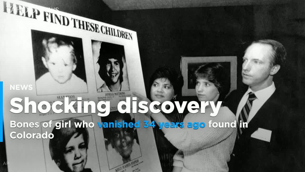 Bones of girl who vanished 34 years ago found at Colorado pipeline site