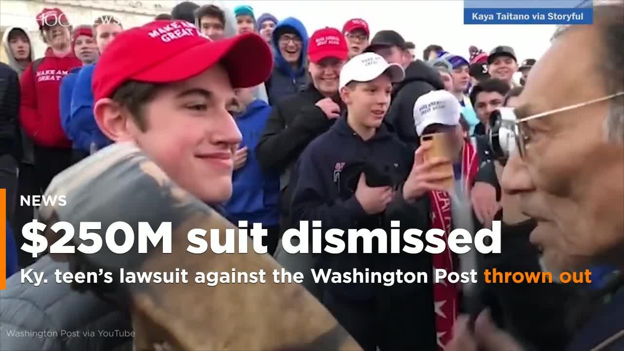 Ky. teens $250 million suit against the Washington Post dismissed