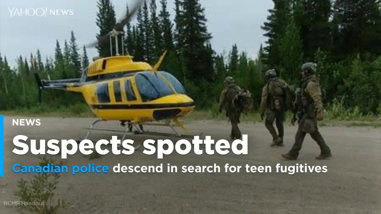 Canadian police descend on tiny Manitoba hamlet as teen