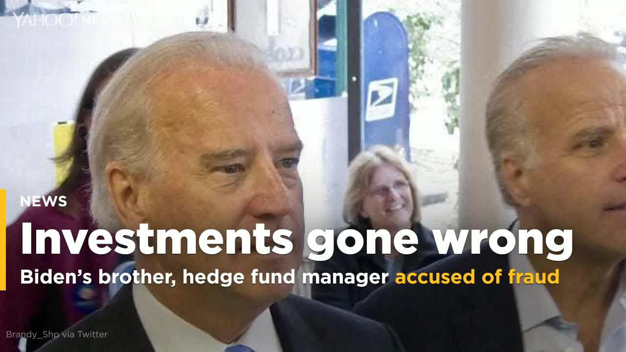 Joe Bidens brother and hedge fund manager accused of fraud