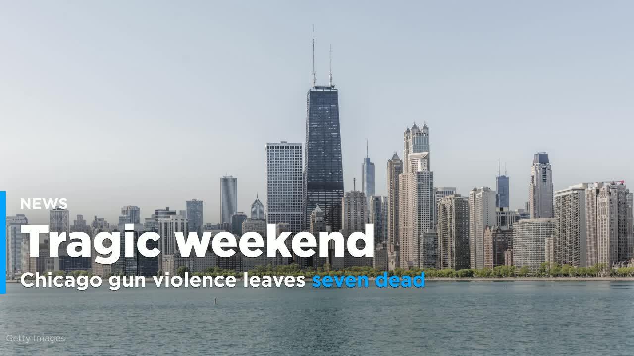 Chicago gun violence leaves seven dead