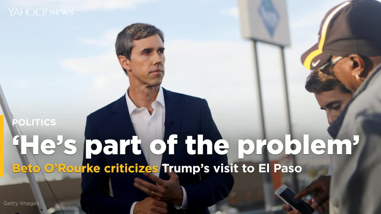 Beto O'Rourke: Trump talking about crowd sizes in El Paso shows 'how