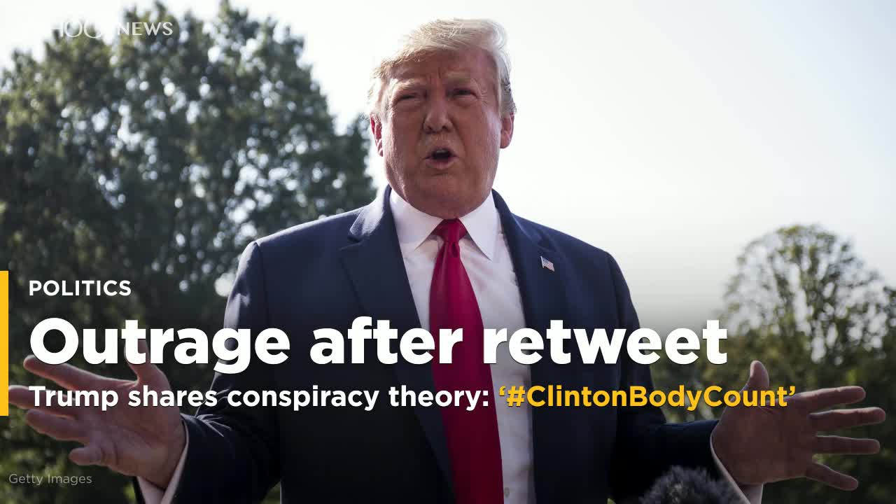 Trump's shares Epstein conspiracy theory, draws outrage