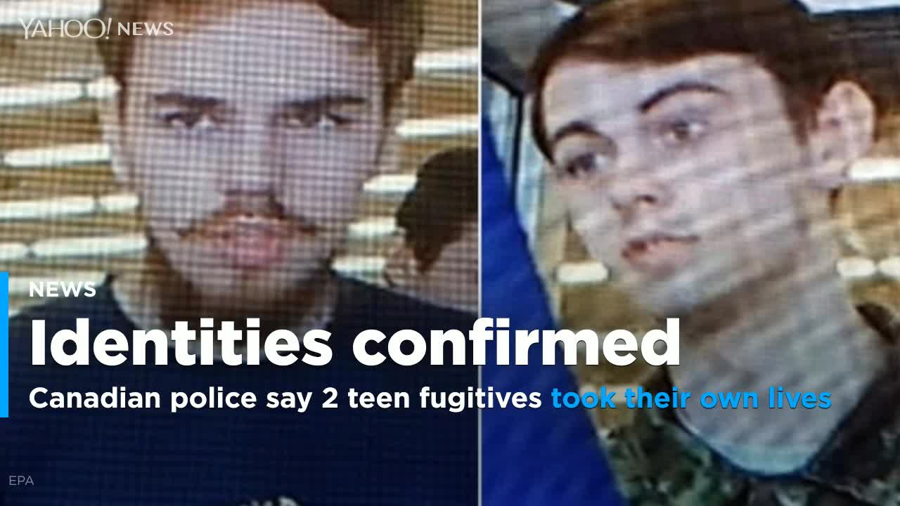 Canada police: 2 teen fugitives took their own lives