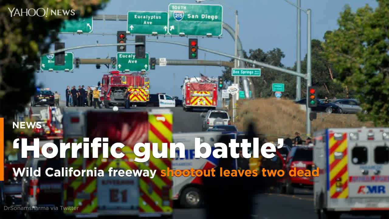 Long and horrific gun battle in California ends with one officer dead, 2 injured