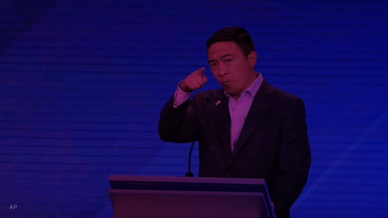 Andrew Yang wants to give families money and 450,000 signed up to take part in the rollout