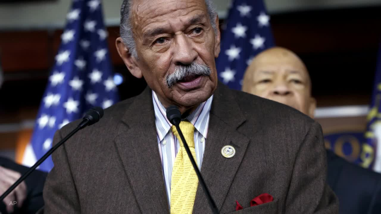 John Conyers Jr., 26-Term Congressman Hit by Scandal, Dies